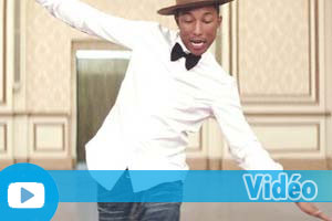 Exercices d'Anglais Gratuits - Quiz - Moyen - Vidéo - Pharrell Williams - Happy