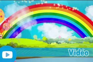 Exercices d'Anglais Gratuits - Quiz - Moyen - Vidéo - Rainbow Colors Song - Learn Colors For Children