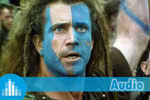 Exercices d'Anglais Gratuits - Quiz - Difficile - Audio - Braveheart