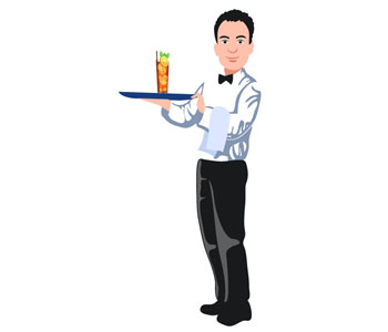 Vocabulaire anglais les m tiers jobs or professions for Job serveur