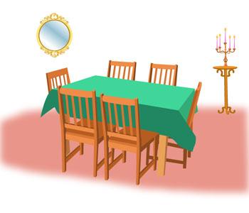 vocabulaire anglais a la maison at home anglais facile cours et exercices d 39 anglais. Black Bedroom Furniture Sets. Home Design Ideas