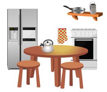 Vocabulaire anglais a la maison at home anglais facile for Anglais facile vocabulaire cuisine