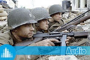 Exercices d'Anglais Gratuits - Quiz - Difficile - Audio - Saving Private Ryan