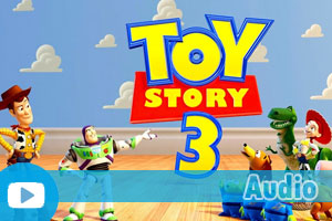 Exercices d'Anglais Gratuits - Quiz - facile - Audio - Toy Story 3